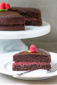 Chocolate Avocado Oil Cake