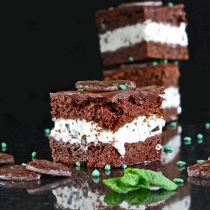 Chocolate Mint Ice Cream Cake