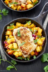 Coconut Almond Crusted Cod
