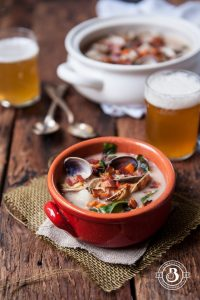 Coconut Beer Steamer Clam Chowder