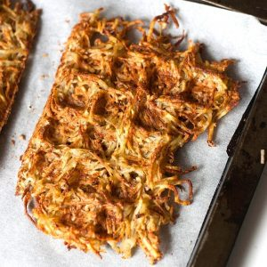 Crispy Hash Brown Waffles