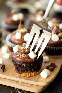 Decadent S'more Cupcakes