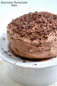 Espresso Chocolate Cake