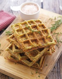 Herbed Potato Waffles