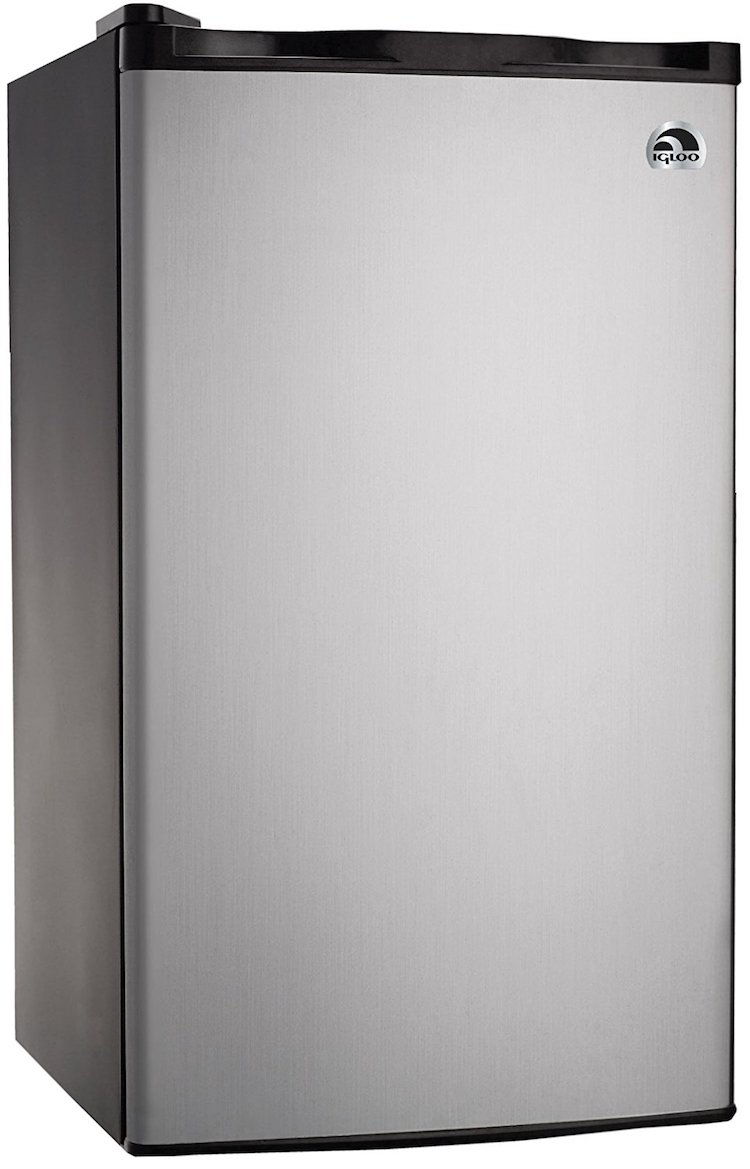 IGLOO 3.2 CU FT Platinum Fridge
