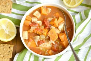 Manhattan Cod Chowder