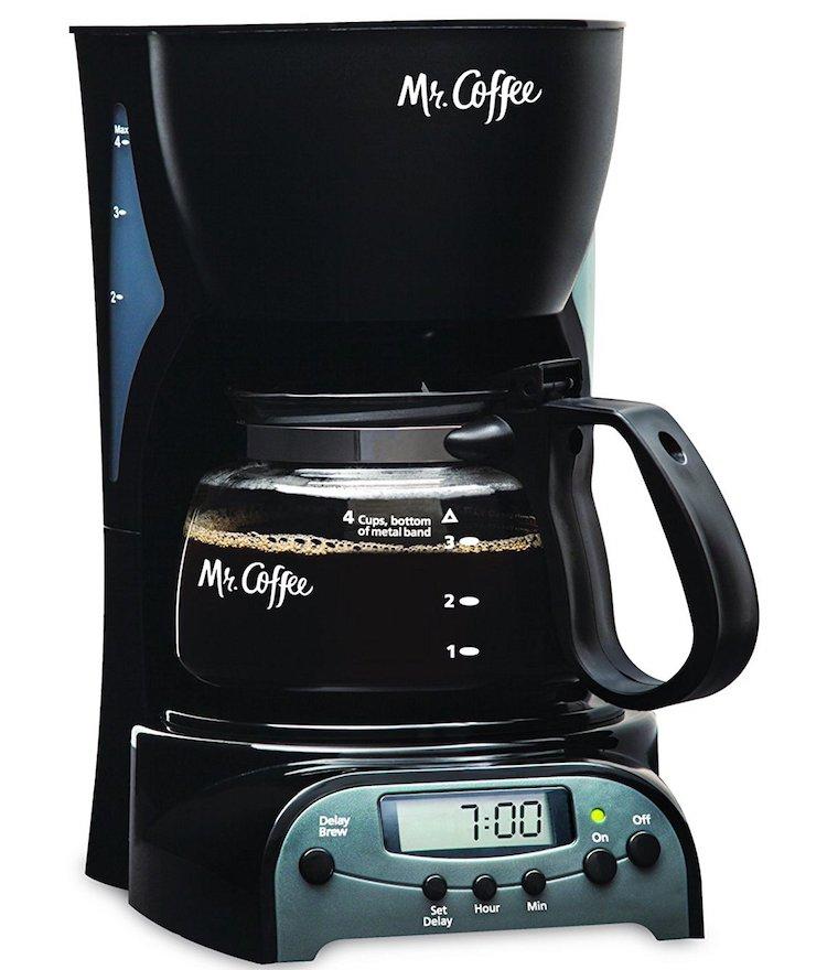 Mr. Coffee 4-Cup Programmable Coffeemaker
