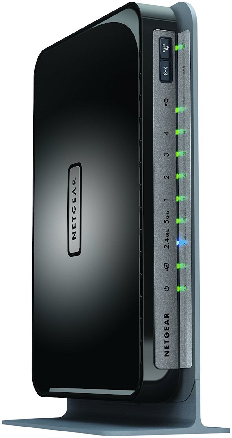 NETGEAR N750 Dual Band 4 Port Wi-Fi Gigabit Router