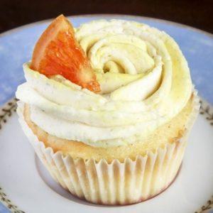 Orange Coriander Camomile Cupcakes