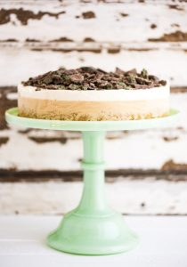 Peppermint Crisp Ice Cream Cake