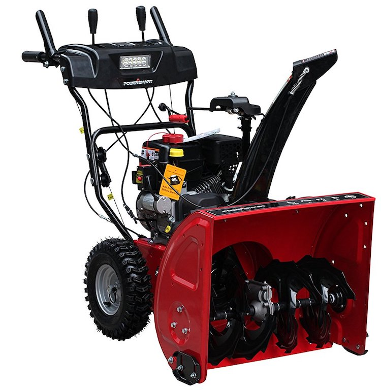 Power Smart DB7103-24 Inch Two Stage Snow Thrower