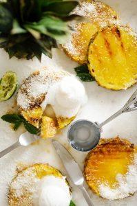 Simple Grilled Pineapple Dessert