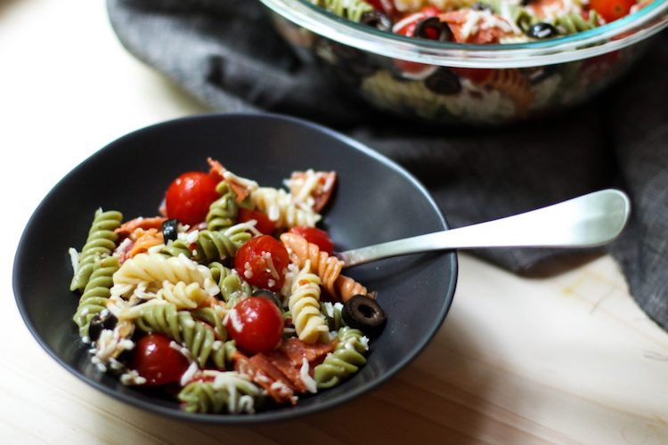 Six Ingredient Pasta Salad