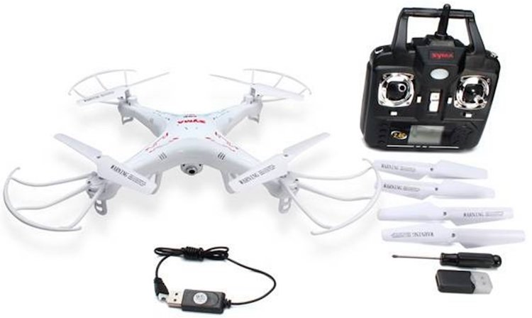 Syma X5C-1 2.4Ghz 6-Axis Gyro RC Quadcopter