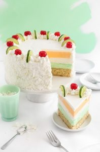 Tropical Sherbert Cake