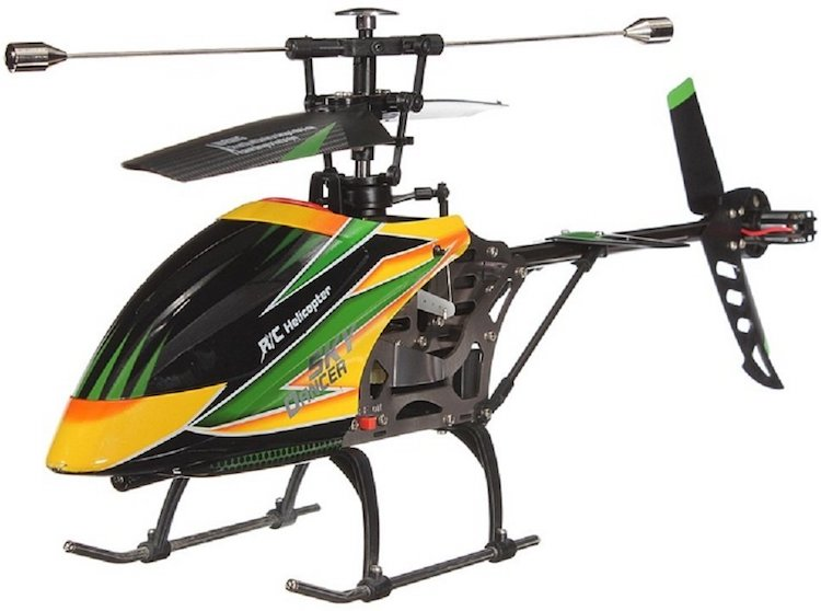 WLtoys Large Single Blade RC Remote Control Helicopter