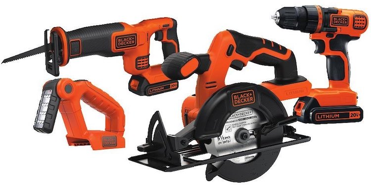 Black & Decker Driver Circular & Reciprocating Saw
