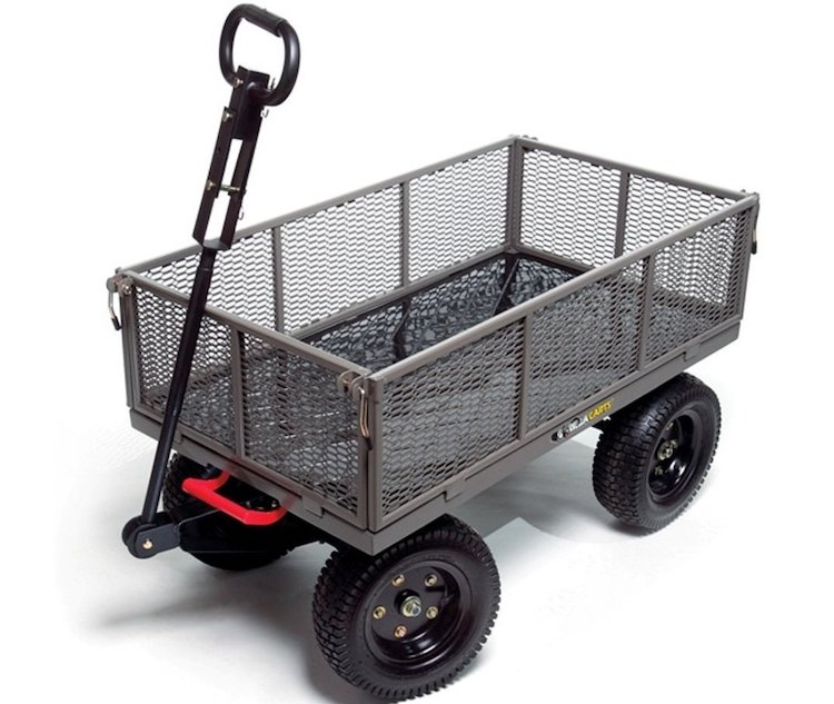 Gorilla Steel Garden Cart