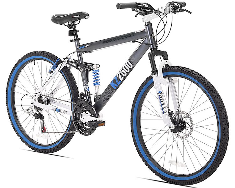 Kent Thruster Dual-Suspension Mountain Bike