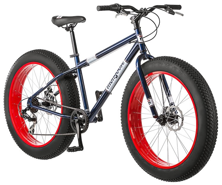 "Mongoose Dolomite 26"" Men's Fat Tire Bike"