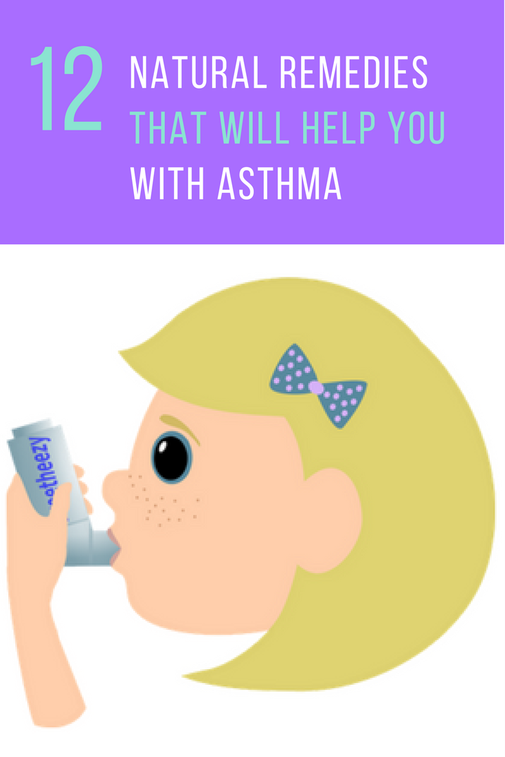 12 Natural Remedies That Will Help You With Asthma. | Ideahacks.com