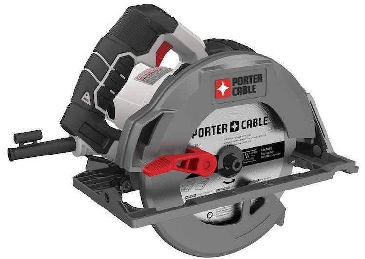 PORTER-CABLE Heavy Duty Magnesium Shoe Circular Saw