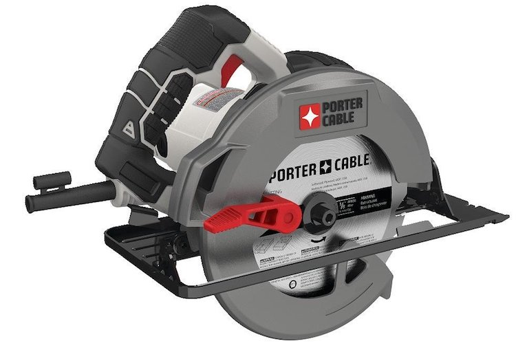 PORTER-CABLE Heavy Duty Steel Shoe Circular Saw