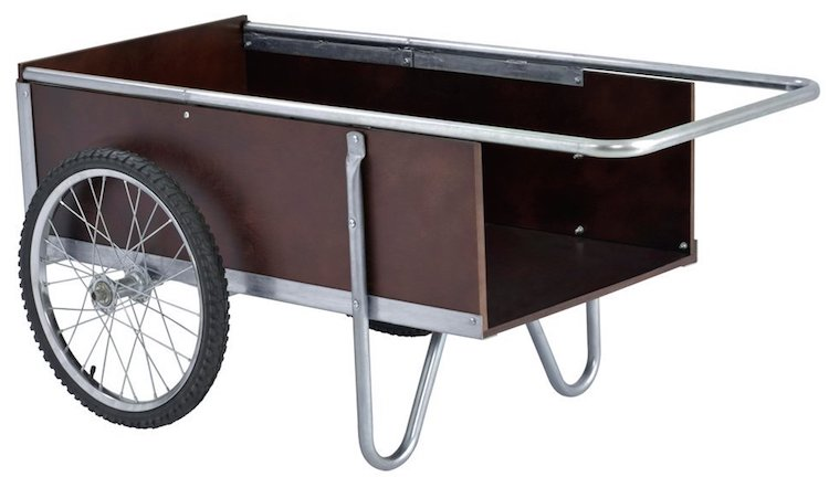 Sandusky Lee Steel Edging Garden Cart