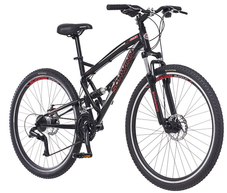 "Schwinn S29 Men's 29"" Wheel Full Suspension Mountain Bike"