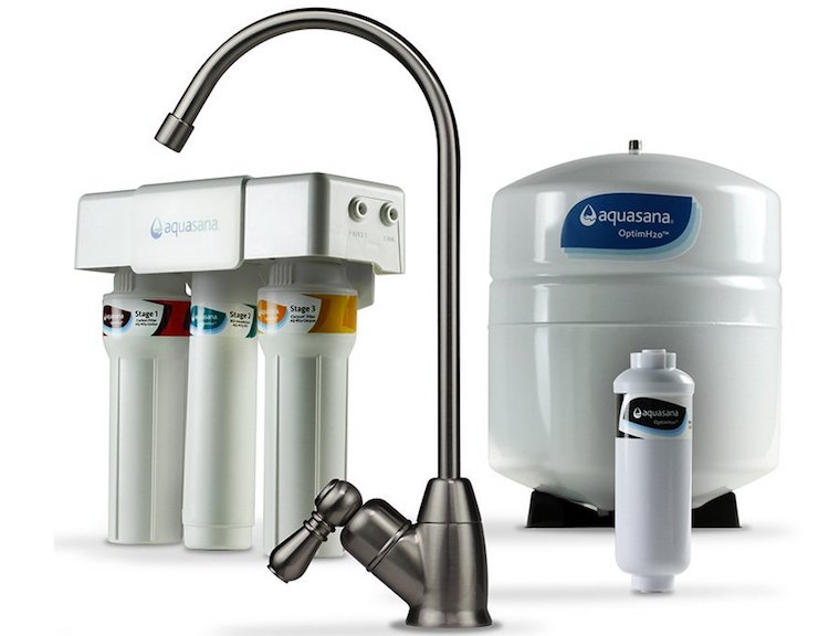 Aquasana AQ-RO-3.55 OptimH2O Reverse Osmosis Fluoride Water Filter