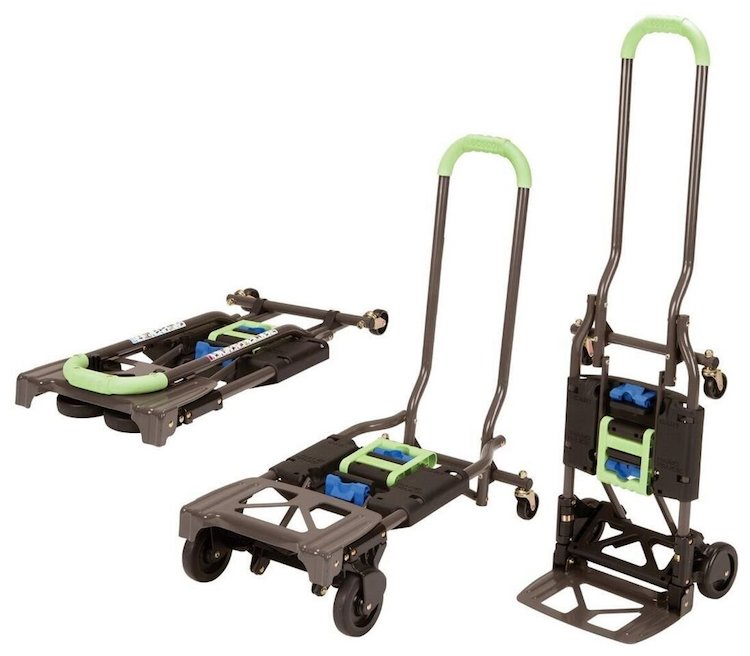 Cosco Shifter 300 lbs Capacity Multi-Position Folding Hand Truck