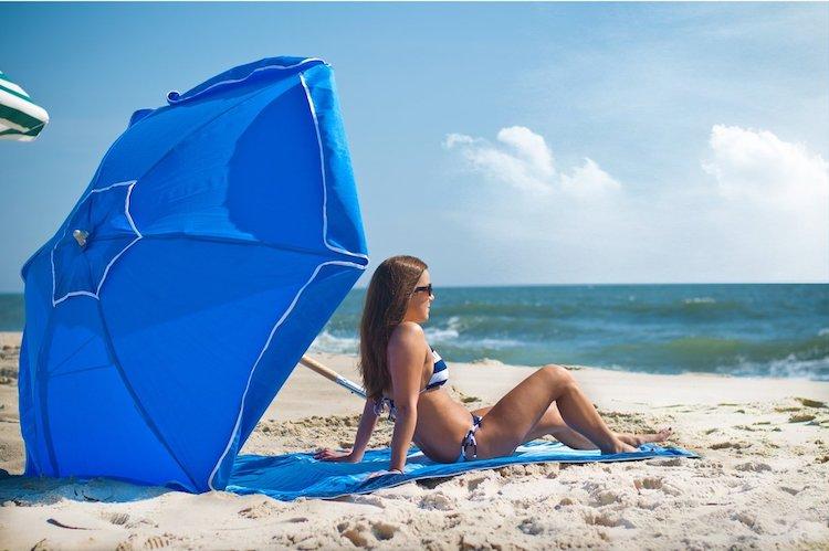 Frankford Umbrella Shade Star Steel Beach Umbrellas