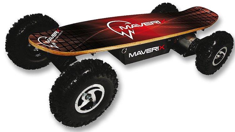 Maverix USA Border X 800W Skateboard