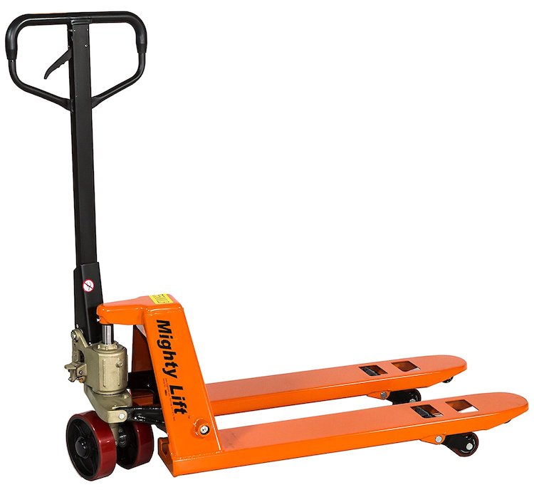 Mighty Lift 20 x 36 Inch Fork Pallet Truck