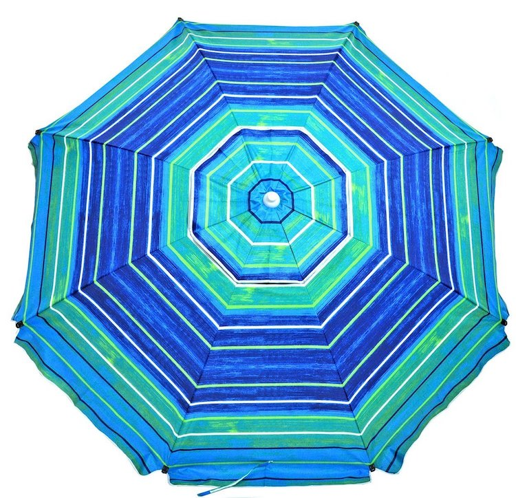 Shadezilla Premium Heavy Duty Fiberglass Beach Umbrella