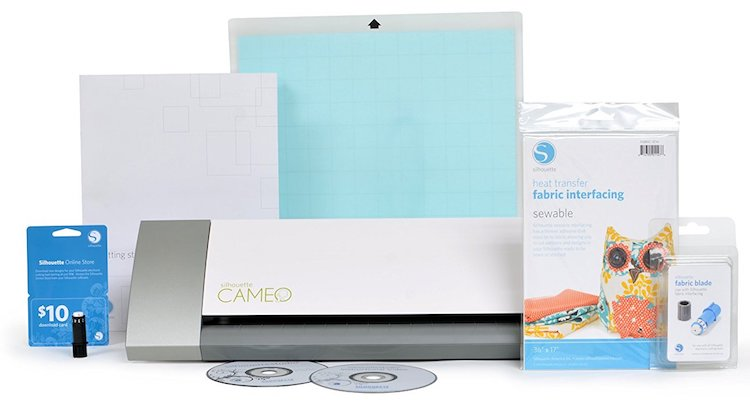 Silhouette Cameo Fabric Starter Kit Bundle