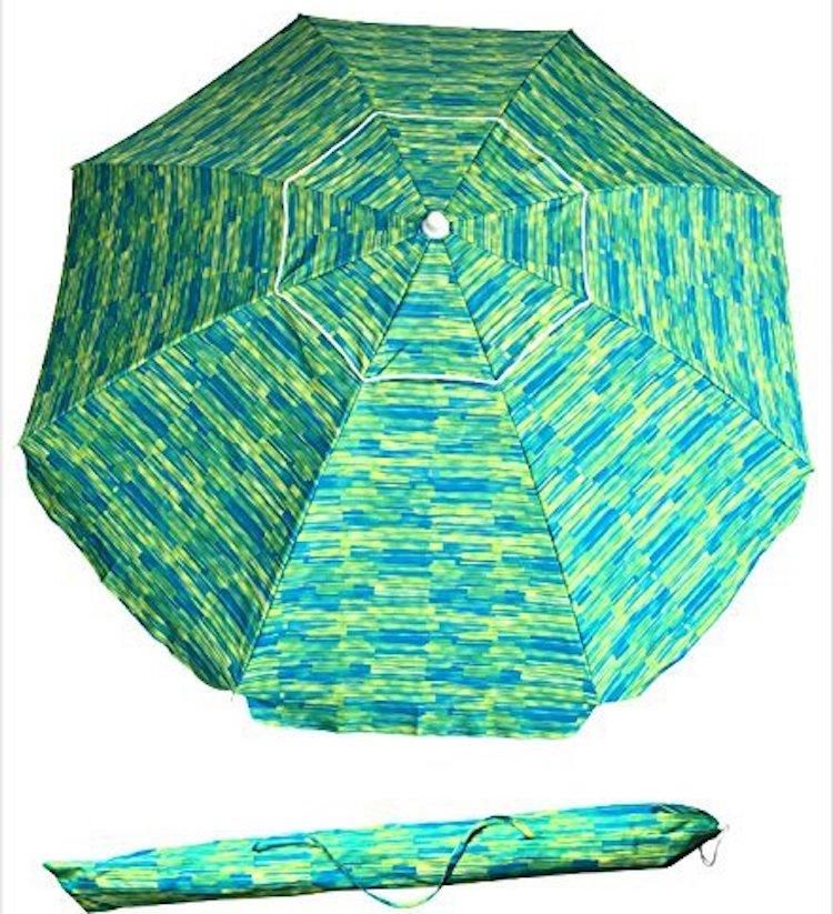 SueSport Sand Anchor 7 ft Beach Umbrella