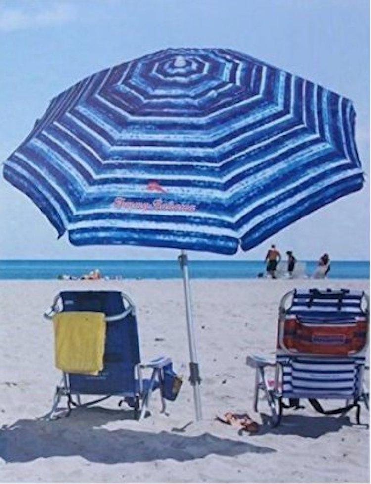 Tommy Bahama Sand Anchor 7ft Beach Umbrella