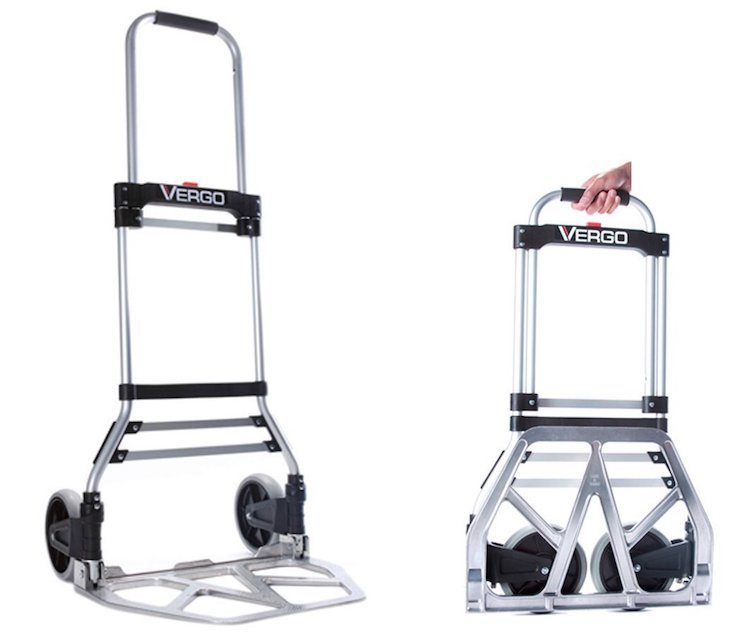 Vergo Model Industrial Folding Hand Truck Dolly