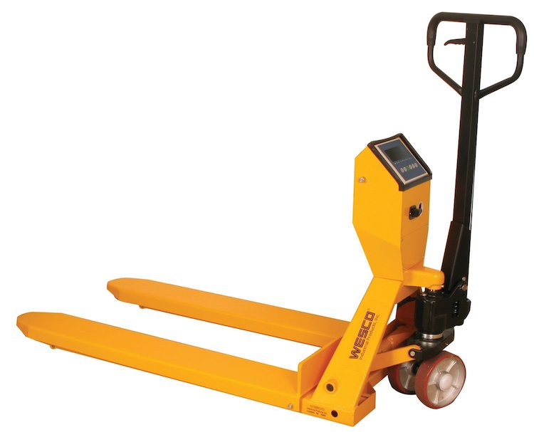 Wesco 272936 Scale Pallet Truck