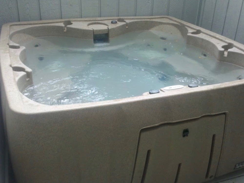 hot tub for eczema