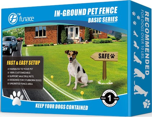 FunAce Radio Wave Electric Dog Fence System