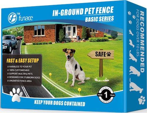 FunAce Radio Wave Electric Dog Fence System