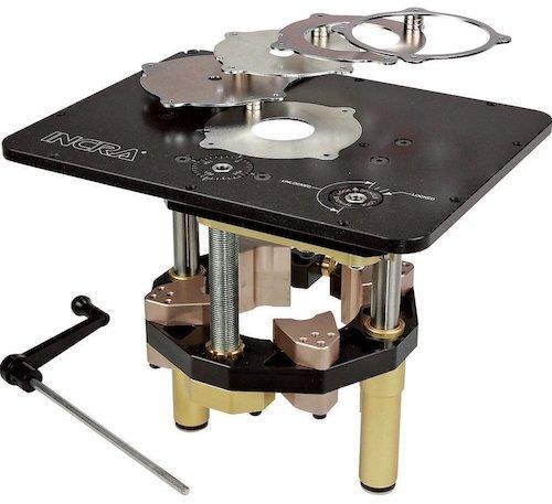 Incra Master Lift II Designed for Rockler Tables