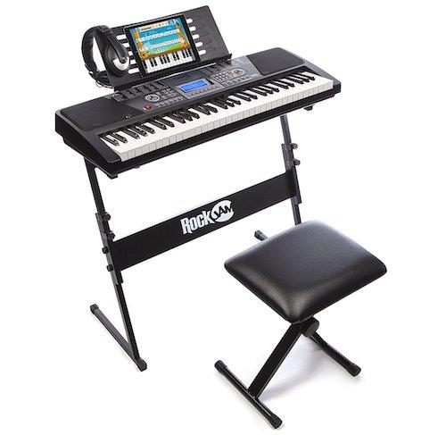 RockJam 61-Key Electronic Keyboard