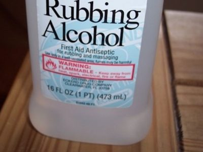 Uses for Rubbing Alcohol