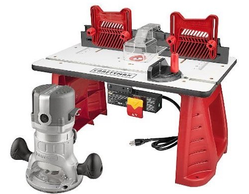 Craftsman Router Table Combo