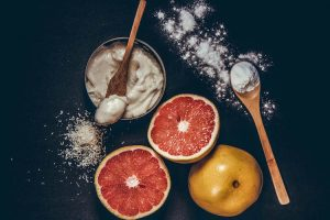 Homemade Deodorant Infused With Grapefruit