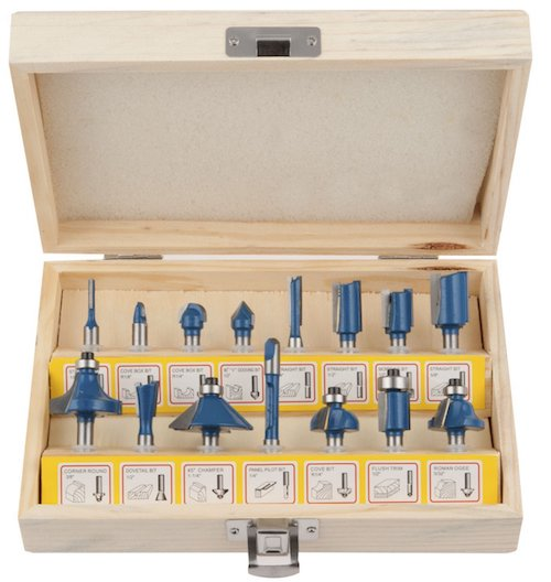 Hiltex 10100 Tungsten Carbide Router Bits