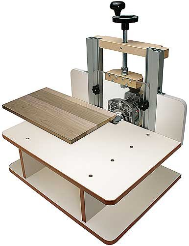 MLCS Woodworking FLATBED Horizontal Router Table